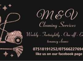 M&V Cleaning services