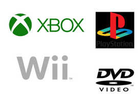 Low cost games: Xbox, Xbox 360, PS2 & 3, Wii, DVD