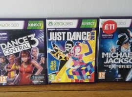 Collection of XBOX 360 games - Bundle