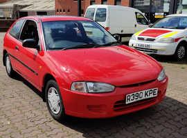 Mitsubishi COLT GLX, 2000 (X) Red Saloon, Manual Petrol, 40,370 miles