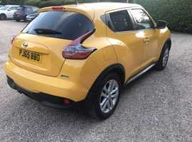 Nissan Juke 2015, 19500 miles, MOT 11/2020, perfect condition, one keeper