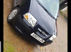 Hyundai Amica, 2007 (07) Black Hatchback, Manual Petrol, 105,561 miles