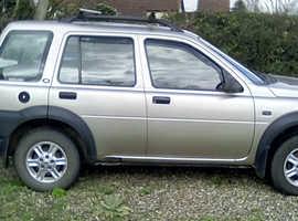 Land Rover Freelander, 2002 (51) Gold Estate, Manual Diesel, 173,347 miles