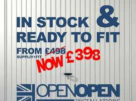 PRICE DROPPED TO £398. Now This Must Be The Cheapest Supplied & Fitted Garage Door in Hampshire.