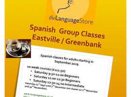 Spanish group lessons September 2019 Easville / Greenbank