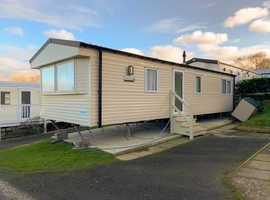 2018 Static Caravan For Sale, Large main bedroom. Gas Central Heating. Sea Views & Parking at Quay West, Haven, Wales