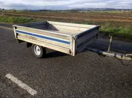 Conway galvanised trailer