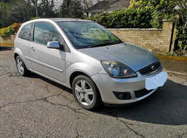 Ford Fiesta, 2008 (08) Silver Hatchback, Manual Petrol, 96,500 miles