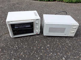Tabletop oven and microwave