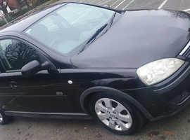 Vauxhall Corsa, 2003 (53) Black Hatchback, Manual Diesel, 95,000 miles