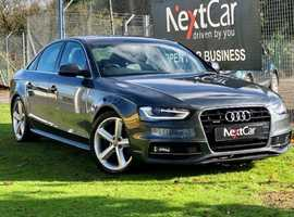 Audi A4 2.0 TFSI MultiTronic S-Line Quattro Very Very Low Mileage All Wheel Drive Quattro with Automatic Transmission