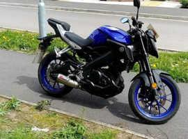 Yamaha mt 125 2017