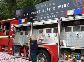 Fire Engine Mobile Bar for Sale