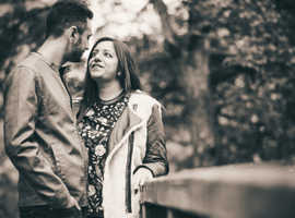 Free engagement photo session for any 2021-2022 bookings