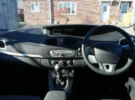 Renault Scenic, 2010 (60) Black MPV, Manual Diesel,  miles