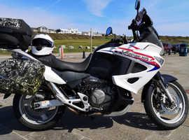 Honda varadero adventure bike