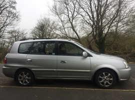 Kia Carens, 2005 (05) Silver MPV, Automatic Petrol, 69,657 miles
