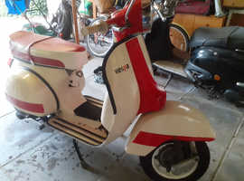 Vespa scooter 1977 model fully restored in 2018 less then 100miles since restoration
