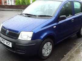 Fiat Panda, 2007 (07) Blue Hatchback, Manual Petrol, 63,000 miles