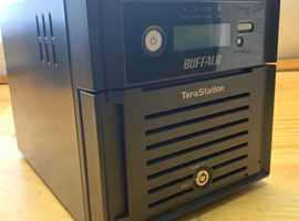 Buffalo Terastation TS-WXL/R1 Network Attached NAS Storage With 2x 2TB HDD