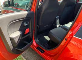Renault Twingo, 2015 (15) red hatchback, Manual Petrol, 36,500 miles