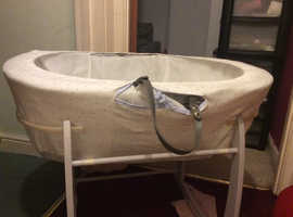 Nike trainers/baby chair/Moses basket used but like new
