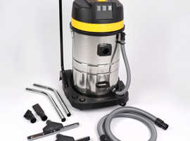 Industrial Vacumm Cleaner 80ltr wet & dry with stainless steel tank