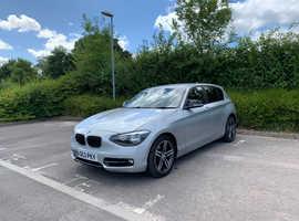 BMW 1 series, 2013 (63) Silver Hatchback, Manual Petrol, 58,000 miles