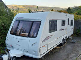 Elddis crusader superstorm 2005 6 berth twin axle with awning and everything else to start touring