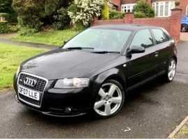 Audi A3 TDI, 2007 (07), Manual Diesel, 54,000 miles