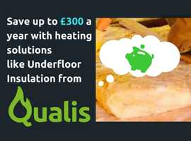 FREE INSULATION & FUNDING towards a new boiler with Qualis Heating & Insulation Experts