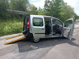 Renault Kangoo 1.6 Dci Mobility Adapted Car 30000 miles, air con, large low floor, free delivery, px welcome