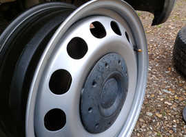 VW Steel wheels brand new