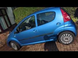 Peugeot 107, 2008 (58) Blue Hatchback, Manual Petrol, 78,184 miles