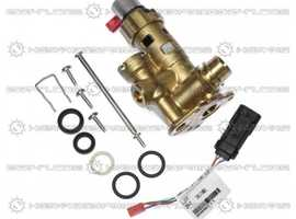 Vaillant Diverter Valve Brass With Adaptor 0020132682 Replaces 178978