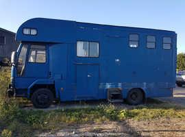 7.5ton Ford Cargo Horsebox