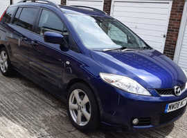 2008  MAZDA 5,  Blue MPV, Manual Petrol, 7 seater history 6 months warranty