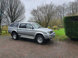 2003 (03) MITSUBISHI L200 WARRIOR LIMITED EDITION! 75K MILES-STUNNGING EXAMPLE! 12-MONTHS WARRANTY.