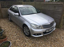 Mercedes C CLASS, 2012 (12) Silver Saloon, Automatic Petrol, 55,701 miles