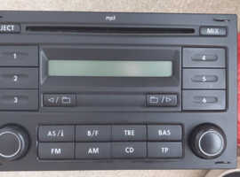 VW Head Unit MP3 CD and Radio Double Din (Transporter T5)