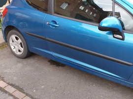Peugeot 207, 2007 (07) Blue Hatchback, Manual Petrol, 100,200 miles