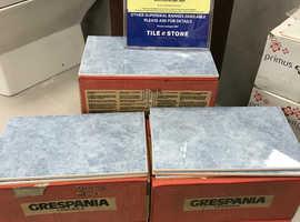 CERAMIC WALL TILES 330x200x 8mm ( BEATRICE BLUE GLOSS) -ALL SAME BATCH & CALIBRE - 2.8 Sqm: 42 Tiles