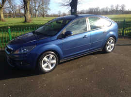 FORD FOCUS ZETEC 1.6L, 2009 REG, LONG MOT, HPi CLEAR VERY TIDY, NICE SPEC WITH ALLOYS & AIR CON