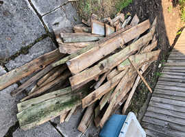 Old Fence Panels
