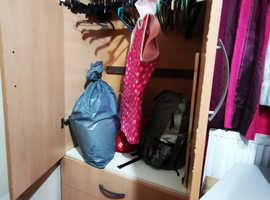 Wardrobe with drawers for sale