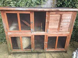 Rabbit hutch double storey