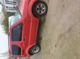 Suzuki Jimny, 2005 (55) Red Estate, Manual Petrol, 97,000 miles