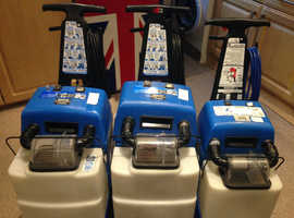 3 x Rug Doctor Qdry Machines, need some repairs, all motors work