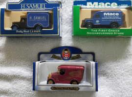 Model vehicles assorted