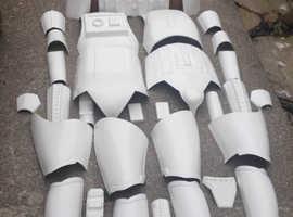 Starwars full set Stormtrooper armour.  Full studio adult size set.